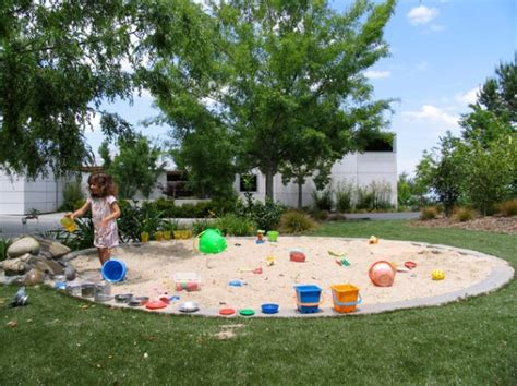backyard sandpit cool play equipment for your garden that kids will love