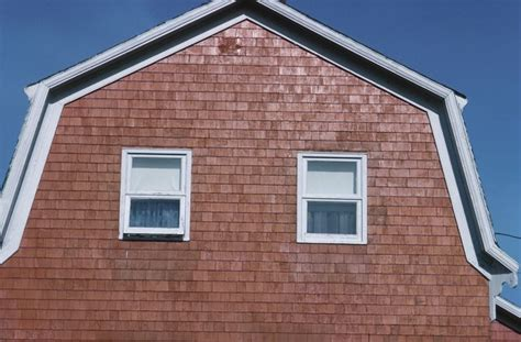shingle  roof transition   gambrel roof