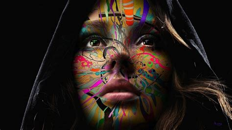 wallpaper abstract woman chameleia full hd wallpaper and background 1920x1080