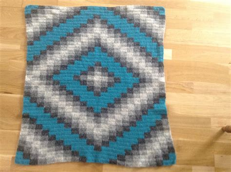 Handmade Wool Blankets - crochet baby blanket warm handmade from wool