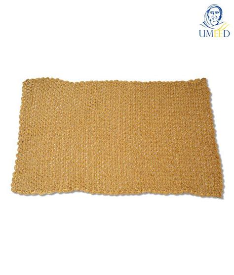 Handmade Table Mats - umeed handmade crotchet table mat gold buy umeed