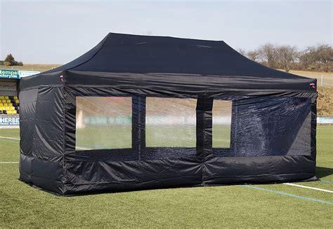 pavillon 4x6 expresszelte zelt 4 x 8 meter schwarz kaufen otto