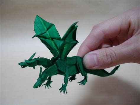 Origami 3 Headed - nham two headed model i ve folded