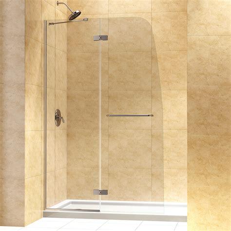 Shower Doors Frameless Hinged Door Frame Shower Door Frame Replacement