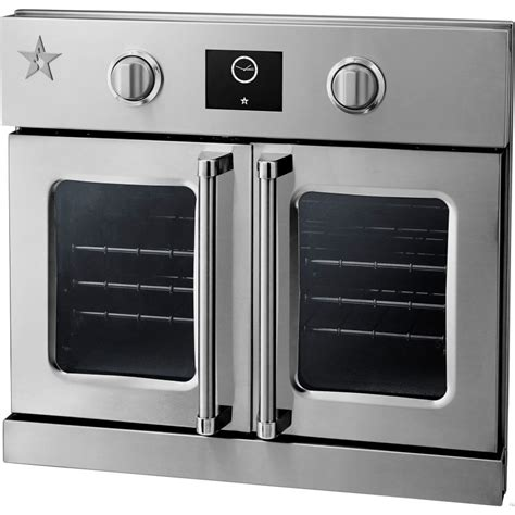 swing door oven bsewo30ecsd bluestar 30 quot single electric wall oven