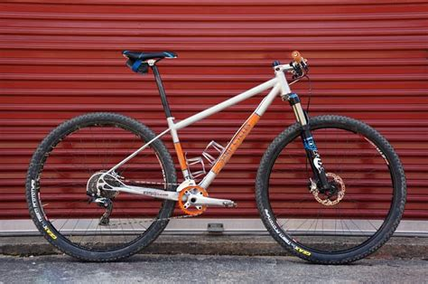 Handmade Mountain Bikes - shop tour sarif cycle worx