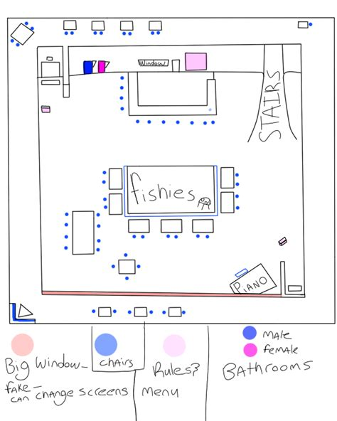 layout of the cafe cafe layout wip by pekoponian kohii on deviantart
