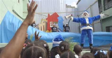 westjet brings christmas magic to dominican republic in
