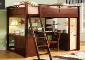 size bunk bed with desk children s student sized loft bed and desk system for