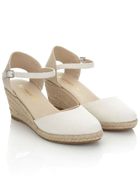 St Wedges st tropez wedge closed toe espadrilles shoes