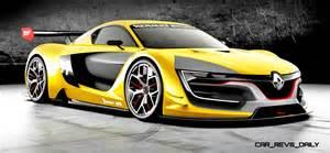 Renault Sports Renaultsport R S 01 Racecar Runs Gt R Engine In Mid Ship
