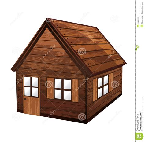 Wooden House Royalty Free Stock Image   Image: 16483906
