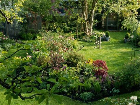 garden in backyard natural backyard landscaping ideas save money creating
