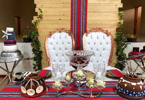 Venda Inspired Wedding Decor for Couple?s Stage