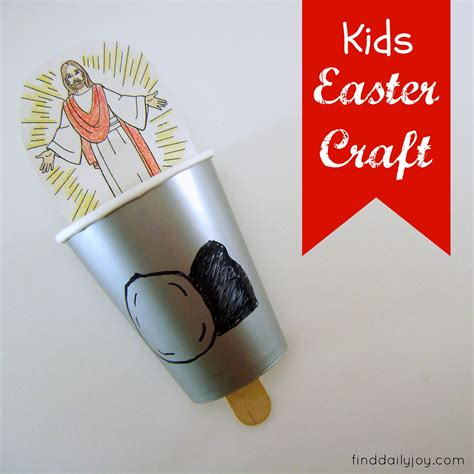 crafts for church easter craft tutorial find daily