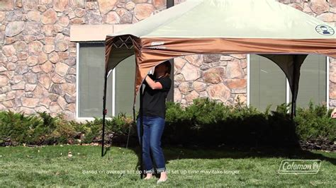 coleman gazebo with awning coleman 174 instant canopy