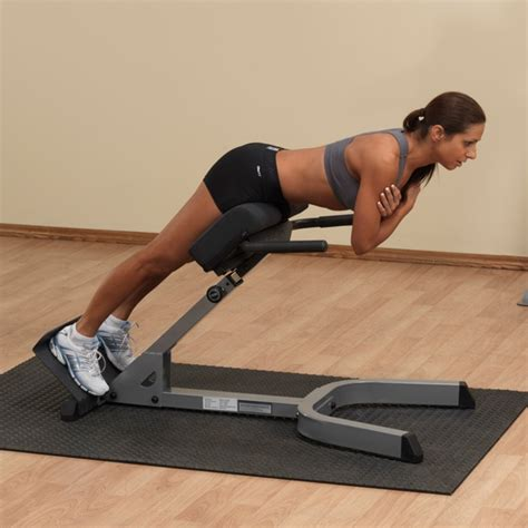 body solid hyperextension bench back hyperextension roman chairs strength equipment