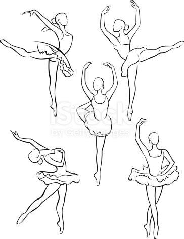 Ballerina Poses Drawing