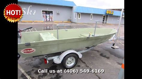 boat and rv show kalispell mt 2013 hog island boat works shallow water 16 fishing in
