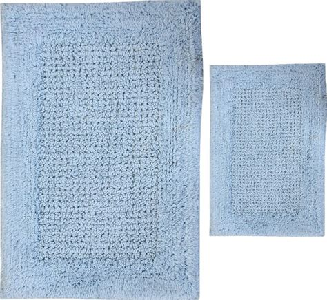 light blue bathroom rugs textile decor usa castle hill naples bath rugs set