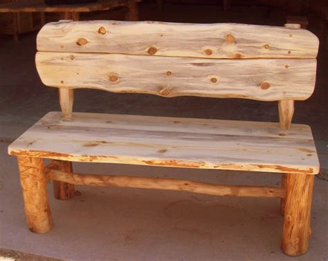Handmade Wood Furniture For Sale - wedding guest book alternative rustic wood bench by
