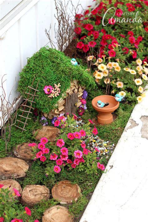 12 diy fairy garden ideas how to make a miniature fairy