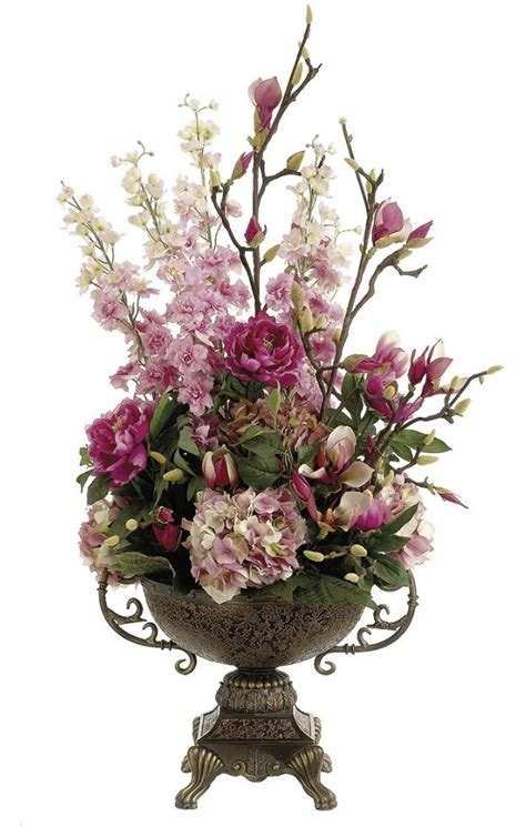 How To Arrange Artificial Flowers In A Large Vase by 25 Best Ideas About Silk Floral Arrangements On