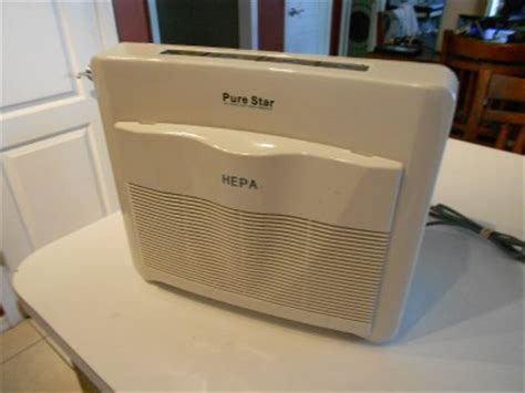 hepa air purifier with anion generator ionizer works great