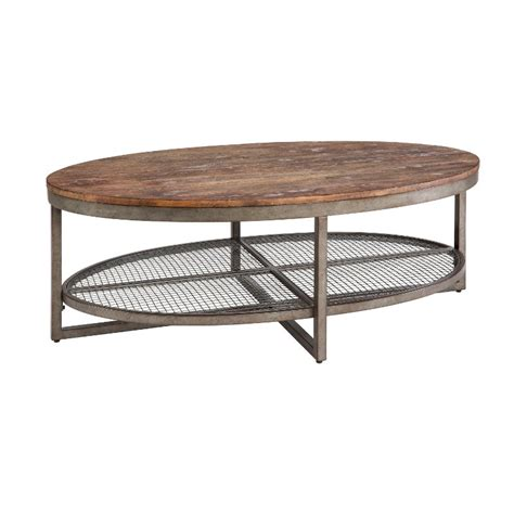 rustic oval coffee table wood metal rustic oval coffee table ink