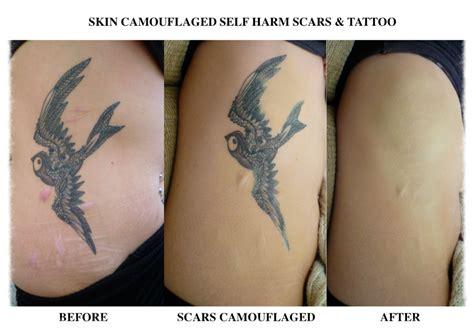 tattoo camo makeup skin camouflage charlotte trendell