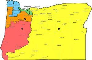 oregon district map