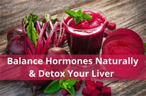 Hormones Detox by Balance Hormones Naturally Detox Your Liver An