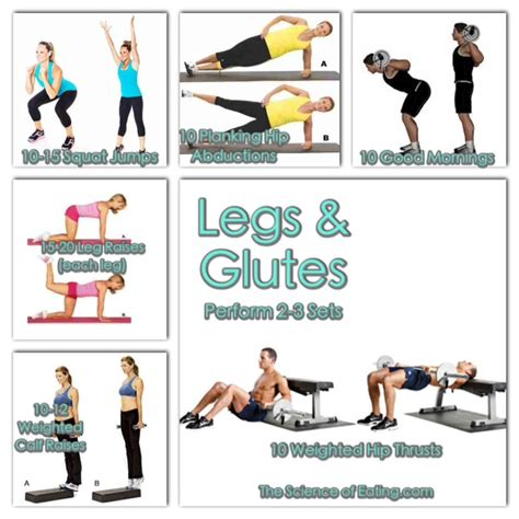 thigh and glute workouts most popular workout programs
