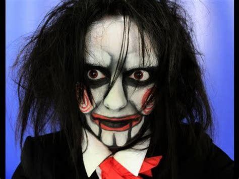 makeup tutorial jigsaw saw puppet billy halloween makeup 2017 saw 8 legacy