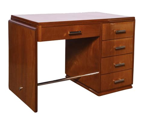 deco desk in mahogany modernism