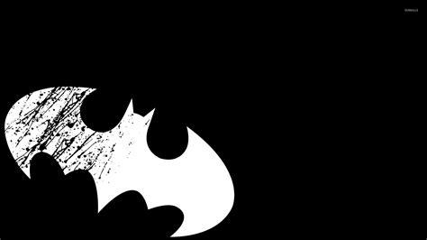 wallpaper black and white batman white batman logo wallpaper comic wallpapers 50045