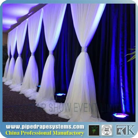 how to drape walls with fabric rk portable fabric partition wall wall drape wedding wall