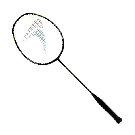 Raket Untuk Smash jual flypower smash 100 watt raket badminton black gold