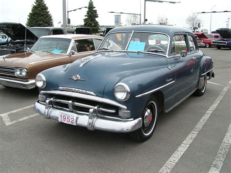 1952 plymouth models plymouth cranbrook