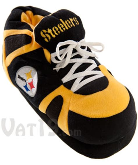 sneaker house slippers comfyfeet nfl sneaker slippers ultra plush design with non skid tread