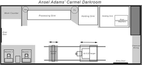 darkroom layout photography ansel adams alan ross photography