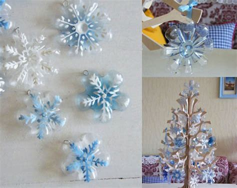 Handmade Things With Plastic Bottles - handmade decorations for new years last