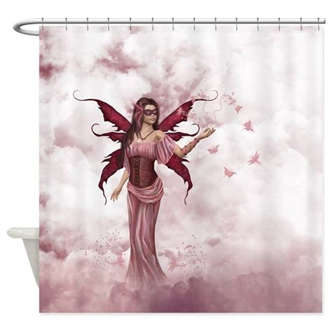 fairy shower curtain butterfly fairy 2 shower curtain by gatterwe