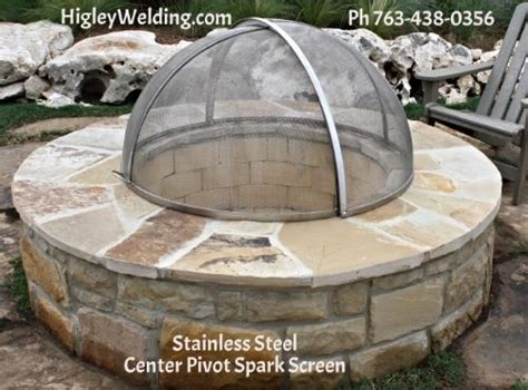 custom pit screens custom stainless steel pit screen higleywelding