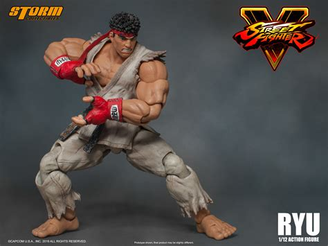 v figures ryu quot fighter v quot collectibles 1 12 figure