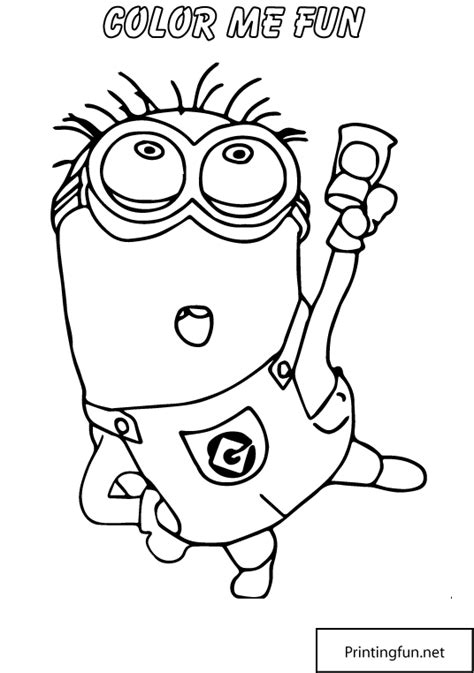 coloring pages minion movie free printables and activities from the animated movie
