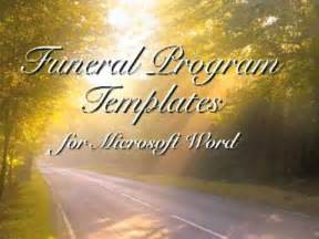 free funeral program template funeral programs youtube