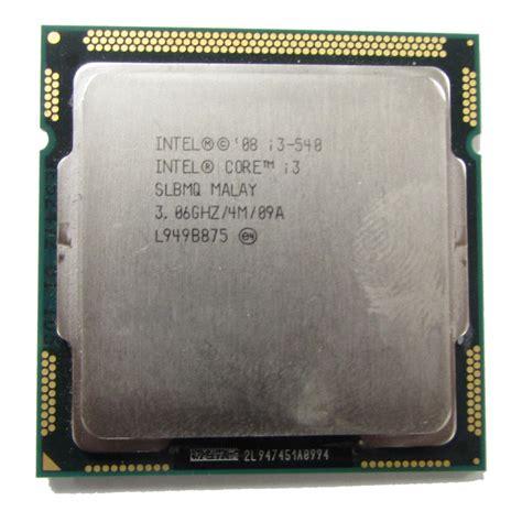 intel i3 sockel intel i3 540 slbmq 3 06ghz socket 1156 cpu cpu