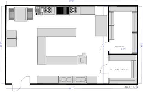 appealing restaurant kitchen plan   kitchen