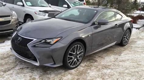 gray lexus new grey on red 2015 lexus rc 350 2dr cpe awd review